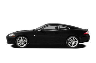 90 Degree Profile 2009 Jaguar XK