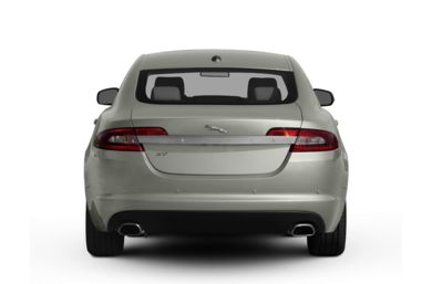 Rear Profile  2009 Jaguar XF