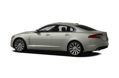 Surround 3/4 Rear - Drivers Side  2009 Jaguar XF