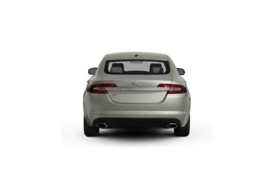Surround Rear Profile 2009 Jaguar XF