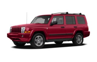 3/4 Front Glamour 2009 Jeep Commander