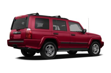 3/4 Rear Glamour  2009 Jeep Commander