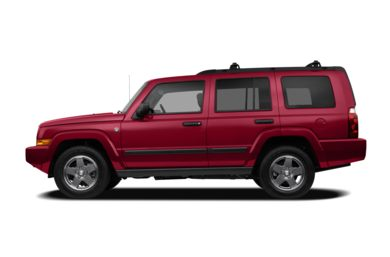 90 Degree Profile 2009 Jeep Commander