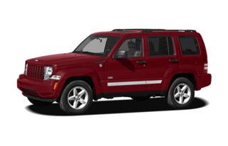 3/4 Front Glamour 2009 Jeep Liberty