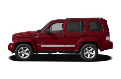 90 Degree Profile 2009 Jeep Liberty