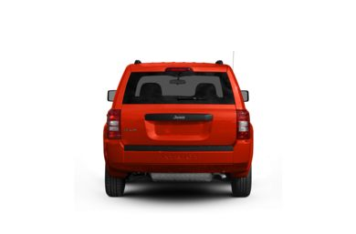 Surround Rear Profile 2009 Jeep Patriot