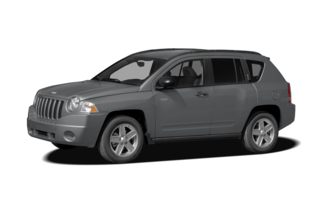 3/4 Front Glamour 2009 Jeep Compass