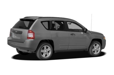 3/4 Rear Glamour  2009 Jeep Compass
