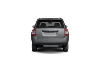 Surround Rear Profile 2009 Jeep Compass