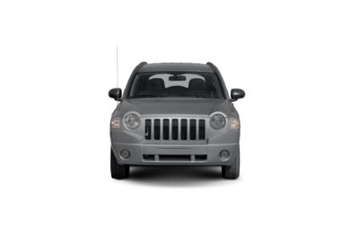 Surround Front Profile  2009 Jeep Compass
