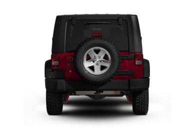 Rear Profile  2009 Jeep Wrangler Unlimited