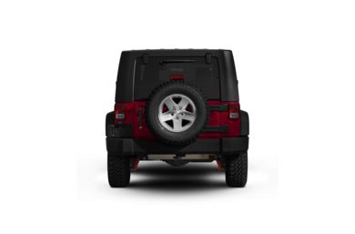 Surround Rear Profile 2009 Jeep Wrangler Unlimited