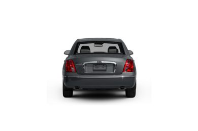 Surround Rear Profile 2009 Kia Amanti