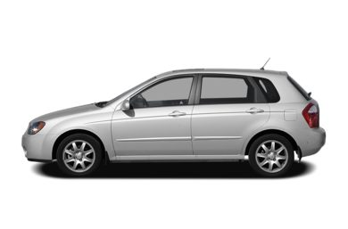 90 Degree Profile 2009 Kia Spectra5