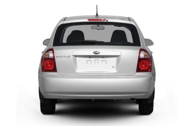 Rear Profile  2009 Kia Spectra5