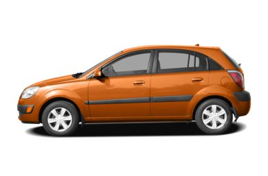 90 Degree Profile 2009 Kia Rio5
