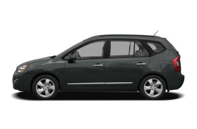 90 Degree Profile 2009 Kia Rondo
