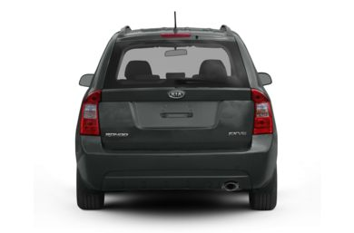 Rear Profile  2009 Kia Rondo