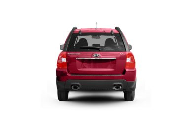 Surround Rear Profile 2009 Kia Sportage