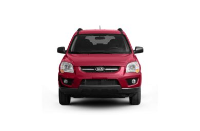 Surround Front Profile  2009 Kia Sportage