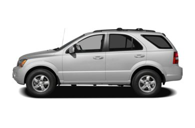 90 Degree Profile 2009 Kia Sorento