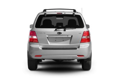 Rear Profile  2009 Kia Sorento
