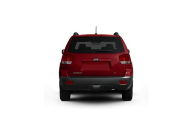 Surround Rear Profile 2009 Kia Borrego