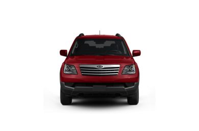 Surround Front Profile  2009 Kia Borrego