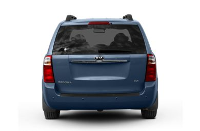 Rear Profile  2009 Kia Sedona