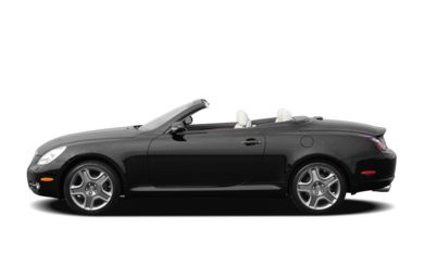 90 Degree Profile 2009 Lexus SC 430