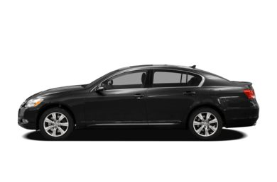 90 Degree Profile 2009 Lexus GS 350