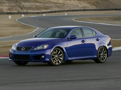OEM Exterior Primary  2012 Lexus IS-F