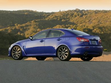 OEM Exterior  2009 Lexus IS-F