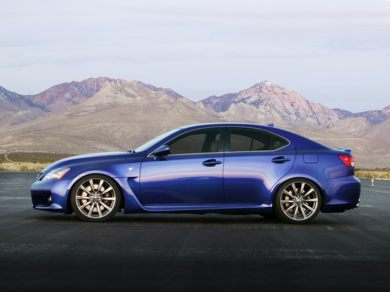 OEM Exterior  2012 Lexus IS-F