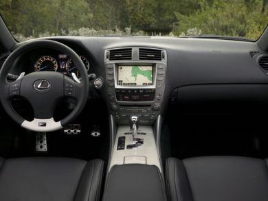 OEM Interior  2011 Lexus IS-F