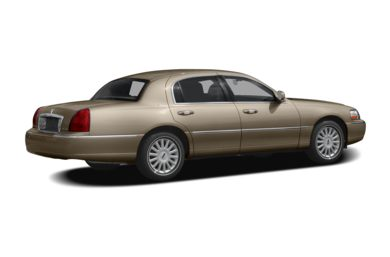 3/4 Rear Glamour  2009 Lincoln Town Car