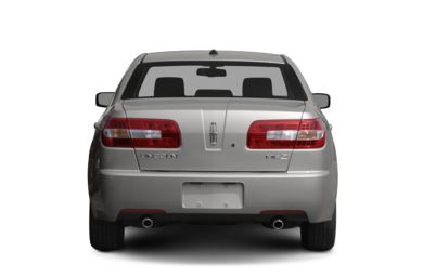 Rear Profile  2009 Lincoln MKZ