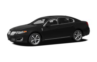 3/4 Front Glamour 2009 Lincoln MKS