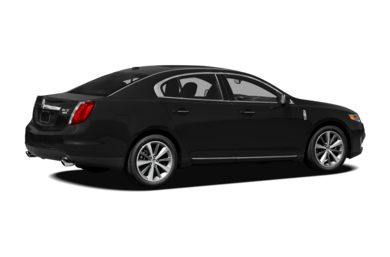 3/4 Rear Glamour  2009 Lincoln MKS