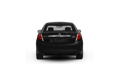 Surround Rear Profile 2009 Lincoln MKS