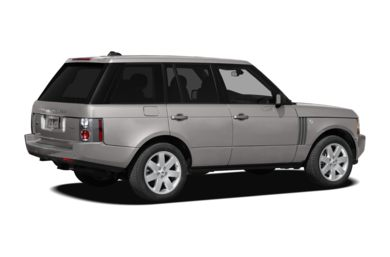 3/4 Rear Glamour  2009 Land Rover Range Rover