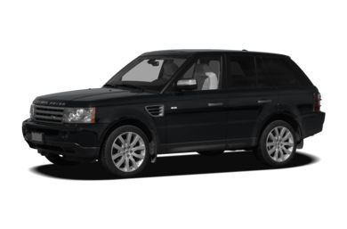 3/4 Front Glamour 2009 Land Rover Range Rover Sport