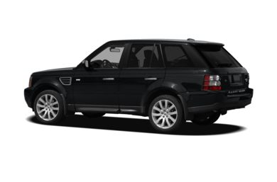 Surround 3/4 Rear - Drivers Side  2009 Land Rover Range Rover Sport