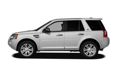 90 Degree Profile 2009 Land Rover LR2