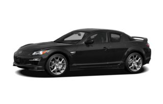 3/4 Front Glamour 2009 Mazda RX-8