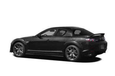 Surround 3/4 Rear - Drivers Side  2009 Mazda RX-8