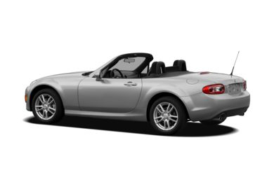 Surround 3/4 Rear - Drivers Side  2009 Mazda MX-5 Miata