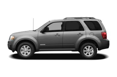 90 Degree Profile 2009 Mazda Tribute
