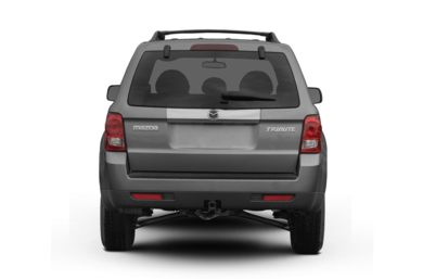 Rear Profile  2009 Mazda Tribute