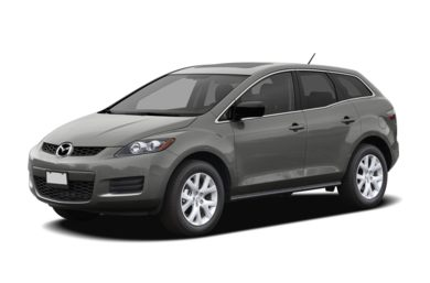 3/4 Front Glamour 2009 Mazda CX-7